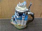 WW-TEAM NEUSCHWANSTEIN CASTLE COMMEMORATIVE STEIN WITH COA
